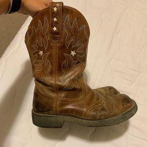Ariat Fatbaby western cowboy boots 9B